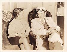 MICKEY ROONEY LIONEL BARRYMORE Original CANDID Studio Set Vintage 1936 MGM Photo