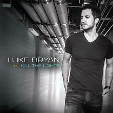 LUKE BRYAN KILL THE LIGHTS CD NEW