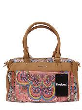 Schicke Desigual Henkeltasche Handtasche Tasche Bols Vinland Dublin Bunt