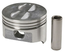SPEED PRO Chevy 350 Hypereutectic Coated Flat Top Pistons+Cast Rings 9.3:1 +.040