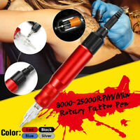 Tätowieru Tattoomaschine Rotary Tattoo Stift Pen Gun Dauerhaft Eyebrow