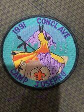 Mint 1991 Conclave OA  Patch Camp Josepho