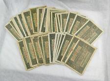 Colección Rico billetes 50x 10 mark 06. de febrero de 1920