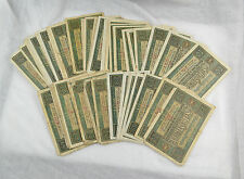 Konvolut Reichsbanknoten 50x 10 Mark 06. Februar 1920