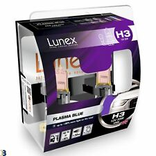 H3 Auto Lampadine Alogene Faro Fanale Blu Lunex Plasma Blue 4200K Set