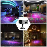 120Muster RGB Laser Projektor Disco LED Bühnenbeleuchtung Lichteffekt EU Stecker