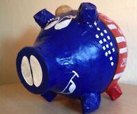 Sparschwein XXL USA Reisekasse Flitterkasse Hochzeit Kartenbox Geldgeschenk Box