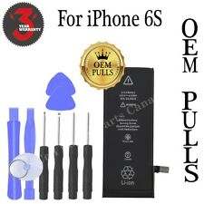** OEM PULLS ** iPhone 6S Battery 1715mAh with Free Tools & 3 Year Warranty