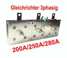 Gleichrichter 200A/ 250A/ 280A/ 380V MIG MAG Schutzgas Schweißgerät
