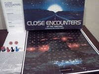 Vintage Close Encounters of the Third Kind Board Game Parker Brothers 1978
