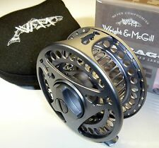 Wright & McGill Dragon Fly Super Large Arbor Size 3/4 Freshwater Fly Reel & Case