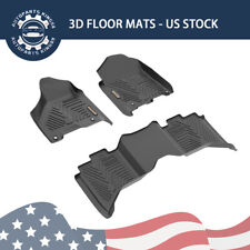 Floor Mats Liners for 2012-2018 Dodge Ram 1500 2500 3500 Crew Cab All Weather