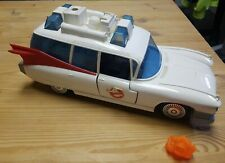 1984 Vintage Ghostbusters Ecto 1 Vehicle Ambulance - Kenner Incomplete w/ Ghost