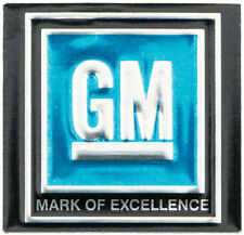 OER Blue Mark of Excellence Seat Belt Decal 1968-1972 Pontiac Chevy Buick Olds