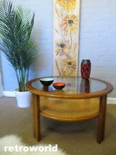 RARE G PLAN Mid Century Vintage Retro 60s Teak Rattan Cane Coffee Table