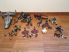 Lego Star Wars Sammlung, Konvolut mit Anleitung und Figuren