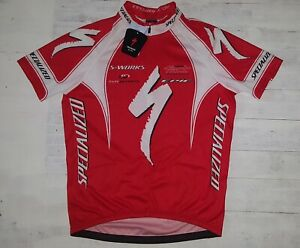 NOS Specialized S-Works Rare Red Cycling Jersey Size XL