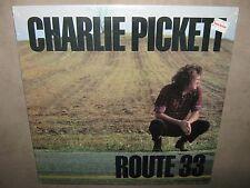CHARLIE PICKETT Route 33 RARE SEALED New Vinyl LP 1986 TTR-8665 NoCutOut