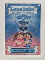 "TOPPS GARBAGE PAIL KIDS GPK ""2019 WAS THE WORST"" ANNOUNCING ADAM #20 NON-ERROR"