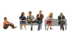 WOODLAND SCENICS A1829   HO SCALE  PEOPLE SITTING