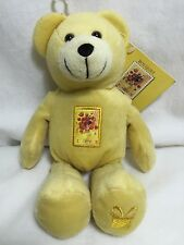 Usps Love Bouquet Stamp Bear Bean Plush Heart Stamp Gift Flowers Beanie Roses