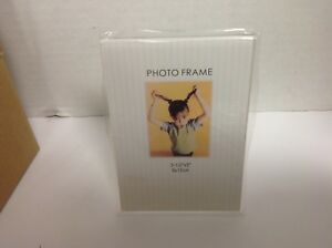 """Acrilyc Ad Frame 3.5"""" x5"""" Slant Back Sign photo Display Holder Counter Table Top"""