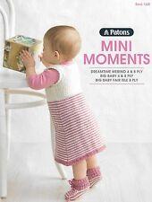PATONS~KNITTING PATTERNS~ BOOK # 1320~~MINI MOMENTS~NEW