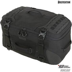 Maxpedition RCDBLK IRONCLOUD Adventure Travel Bag, Black