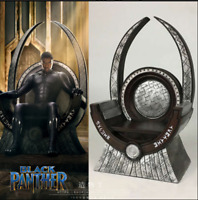 Black Panther Wakanda King T'Challa Throne Figure Table Decor Gift 5.5*3.5*9''