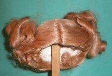 """Peluca de muñeca/cabello humano 12"""" a 13"""" rubia, con coletas al lado"""