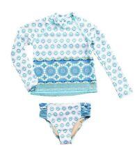 Cabana life rashguard swim set baby girl  Size  6-12M