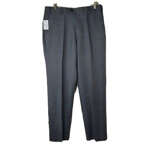 NWT Jos.A.Bank David Leadbetter Mens Size 32x29 Tailored Fit Gray Golf Pants