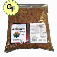 Carolina Gold Nuggets Microwave Pork Puffies Pork Rinds 10 Pounds