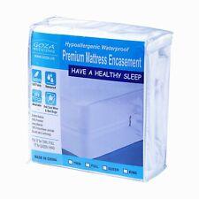 Goza Bedding  Hypoallergenic Waterproof Zippered Mattress Encasement