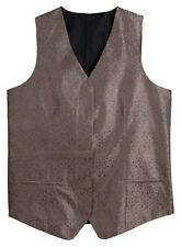 Edwards Garment Women's Polyester Besom Pocket Paisley Vest. 7491