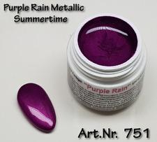 5 ml  UV Exclusiv Summertime Farbgel Purple Rain Metallic Gel Nr.751
