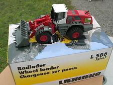 "NZG 1/50 LIEBHERR CHARGEUR sur pneu  L586 "" LOOCK ref 689/05 !!!"