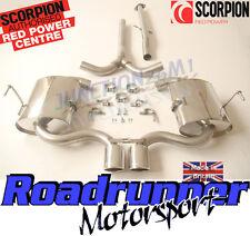 Scorpion Cat Back Exhaust Mini Cooper S R52 Convertible R53 Hatchback SMN003