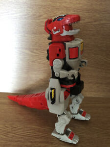 Vintage Mighty Morphin Power Rangers Megazord Dinozord T-Rex Bandai MMPR 1991