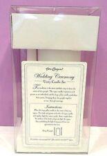 WEDDING CEREMONY UNITY CANDLE SET