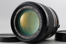 【B V.Good】 Minolta MC TELE ROKKOR-PF 100mm f/2.5 MF Lens for MC/MD JAPAN #2326