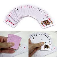 Niedlich Mini Poker Kleine Spielkarten Familienspiel Spielraum Spiel 5.3X3.8cm ^