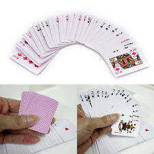 Cute Mini Poker Small Playing Cards Family Game Travel Game 5.3 X 3.8 Cm IU