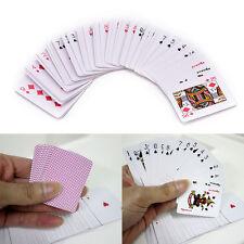 Cute Mini Poker Small Playing Cards Family Game Travel Game 5.3 X 3.8 Cm GTAU