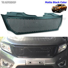 Front Grill Black Net Grille Fit Nissan Frontier Navara Ute Np300 2015 16 Truck