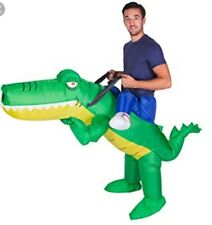 New without Tags Inflatable Alligator Costume Adults One Size Fits All (Adults)