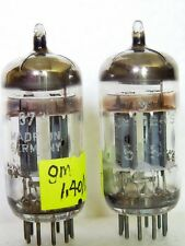 Matched Pair SIEMENS 5751 3 Mica  O Getter / Ecc83 /12AX7 TUBES