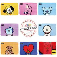 BT21 Character Flannel Blanket Soft Warm Towel Official K-POP Authentic Goods