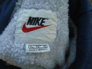 Vintage Nike mens full zip sherpa jacket sz XL