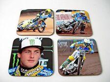 Darcy Ward Australian Speedway Star Coasters Set